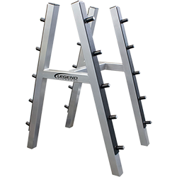 Legend 10-Pair Barbell Rack