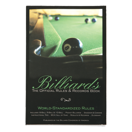 Brunswick Billiards BCA Rule Book