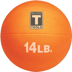 Body-Solid Medicine Ball - 14 lbs (Orange)