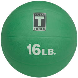 Body-Solid Medicine Ball - 16 lbs (Orange)