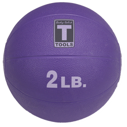 Body-Solid Medicine Ball - 2 lbs (Purple)