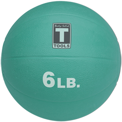 Body-Solid Medicine Ball - 6 lbs (Aqua)