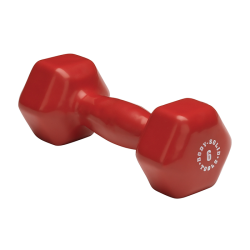 Body-Solid 6 lb. Vinyl Dumbbells