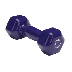 Body-Solid 7 lb. Vinyl Dumbbells
