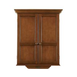Brunswick Dartboard Cabinet - Chestnut