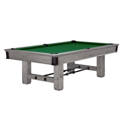 Brunswick Canton 8 ft Pool Table - Rustic Grey