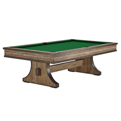 Brunswick Edinburgh 8 ft Pool Table - Weathered Oak Base