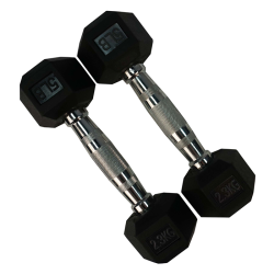 Torque Rubber Hexagon Dumbbell