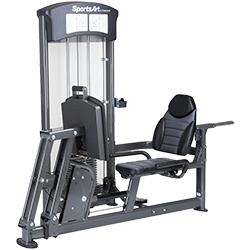 SportsArt DF-101 Leg Press & Calf Extension