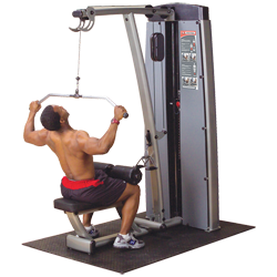 Body-Solid Pro Dual DGYM Lat-Row Component
