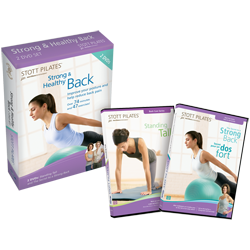 Stott Pilates Strong & Healthy Back DVD Two-Pack