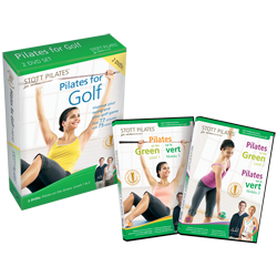 Stott Pilates Pilates for Golf DVD Two-Pack