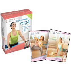 Stott Pilates Pilates-infused Yoga DVD Two-Pack
