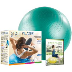 Stott Pilates Stability Ball Power Pack 65cm (green)
