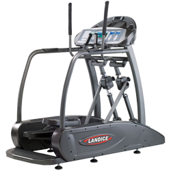 Landice E7 Elliptimill® - Pro Sports Trainer Console - Floor Model