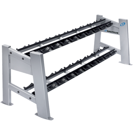 Nautilus Two-Tier Dumbbell Rack