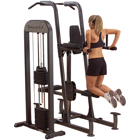 Body-Solid PRO-Select Weight Assisted Chin-Dip Machine