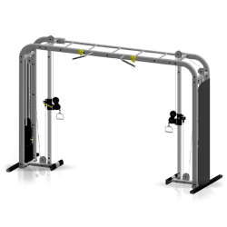 Inflight Fitness Cable Crossover with Monkey Bars