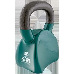 GoFit 35 lbs Countor Kettlebell