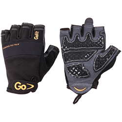 GoFit Diamond-Tac Weightlifting gloves - Large