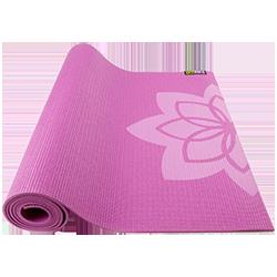 GoFit Designer Yoga Mat - Zen Lotus
