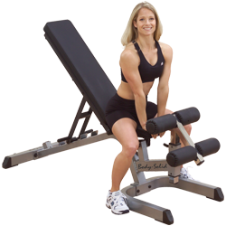 Body-Solid Heavy Duty Incline Decline Bench