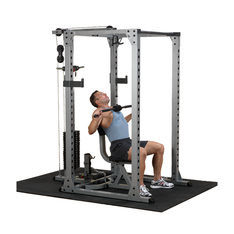 Body-Solid Power Rack - Lat Attachment for Pro Power Rack