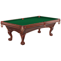 Brunswick Glenwood Old World Cherry 8 ft Pool Table