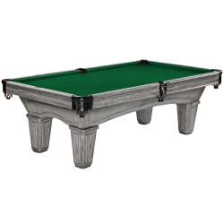 Brunswick Glenwood 8 ft Pool Table - Rustic Gray