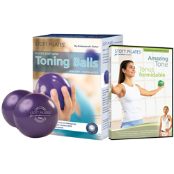 Stott Pilates Toning Ball Power Pack