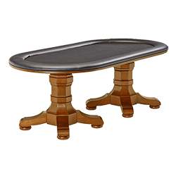 Brunswick Heritage Texas Hold'em Table