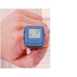 LifeSpan Multi-Function Digital Heart Rate Ring (Blue)