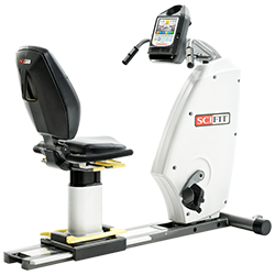 SCIFIT ISO7000R Recumbent Bike with Premium Seat