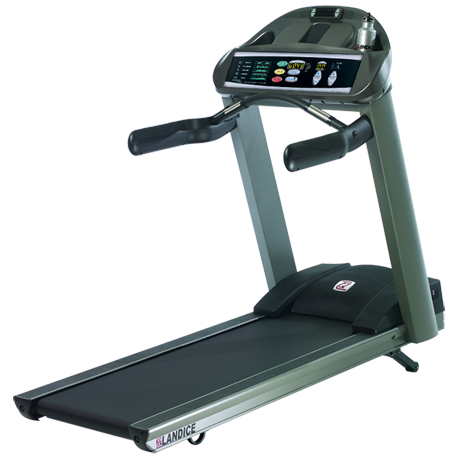 Landice L8 LTD Treadmill with Pro Trainer Control Panel