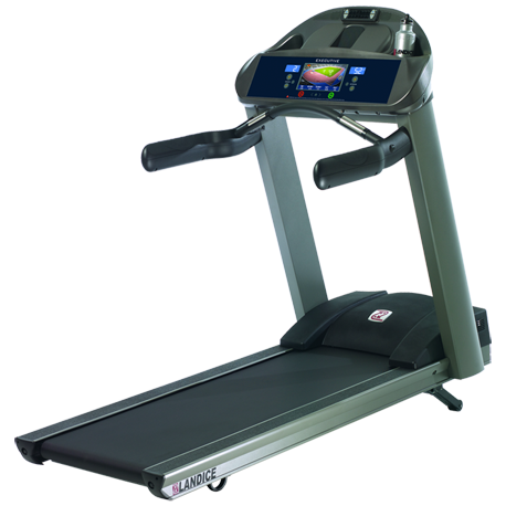 Landice L8 Treadmill with Executive Control Panel (Orthopedic Belt) - Floor Model