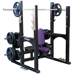 Legend Pro Series Olympic Shoulder Bench