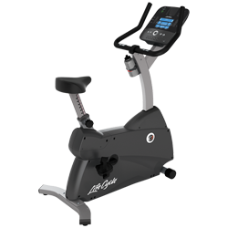 Life Fitness C1 Upright LifeCycle with Track Console