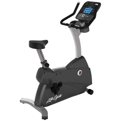 Life Fitness C3 Upright LifeCycle with Track Console
