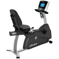 Life Fitness R1 Recumbent LifeCycle with Go Console