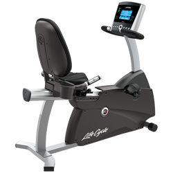 Life Fitness R3 Recumbent Lifecycle with Go Console