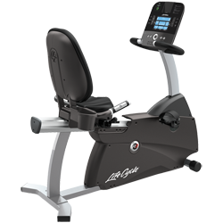Life Fitness R3 Recumbent LifeCycle with Track Console
