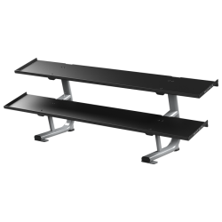 Matrix Magnum 2-tier Flat-tray Dumbbell Rack
