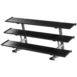 Matrix Magnum 3-tier Flat-tray Dumbbell Rack
