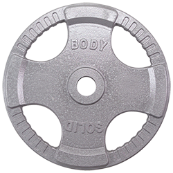 Body-Solid Steel Grip Olympic Plates - 2.5 Lb.