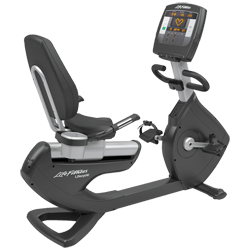 Life Fitness Platinum Club Series Recumbent Lifecycle® - Achieve Console