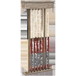 Brunswick Merrimack Cue Rack - Driftwood