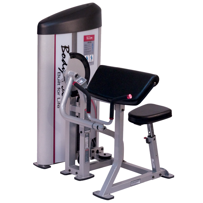 Body-Solid Pro Clubline Series II Arm Curl Machine