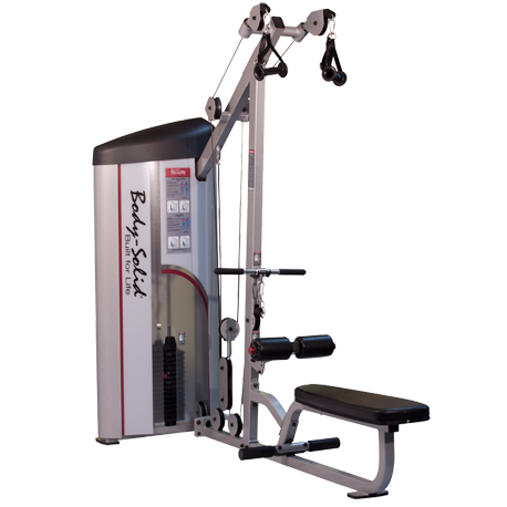 Body-Solid Pro Clubline Series II Lat Pulldown Seated Row