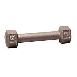 Body-Solid Cast Hex Dumbbell - 3 Lb.