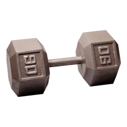 Body-Solid Cast Hex Dumbbell - 90 Lb.